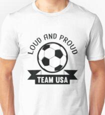 USA National Team Soccer Fan Shirt Unisex T-Shirt