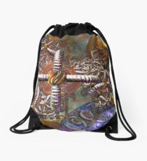Three Part Harmony Drawstring Bag