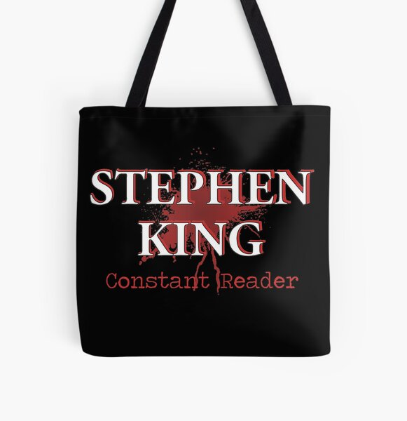 Constant Reader All Over Print Tote Bag