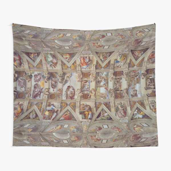 The Sistine Chapel - Michelangelo Tapestry