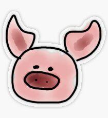 Pig Transparent Sticker