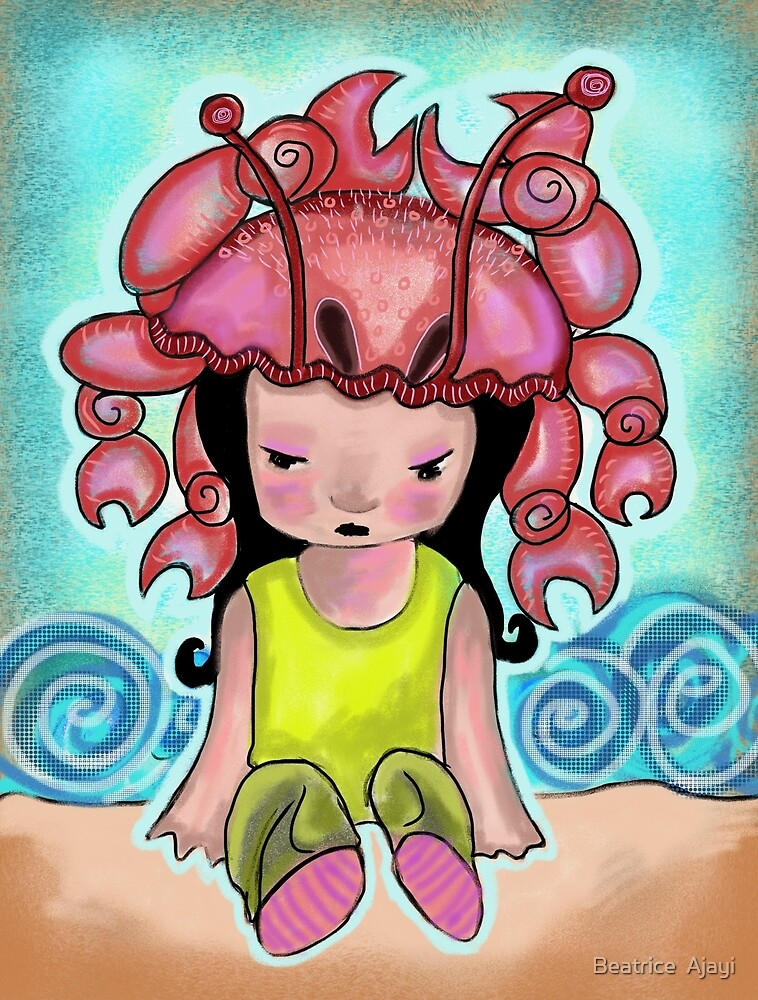 Crab, my favourite Crustacean is a crab by Beatrice  Ajayi