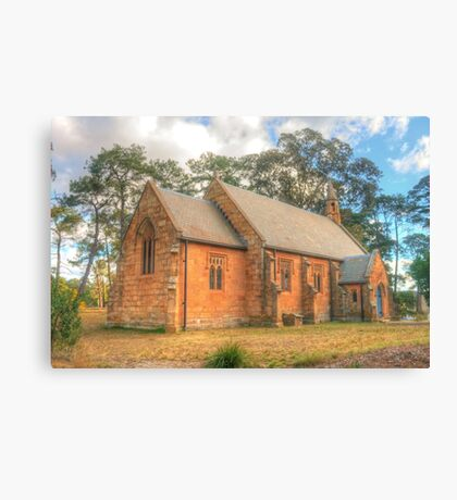 Berrima Holy Trinity Anglican Church Canvas Print