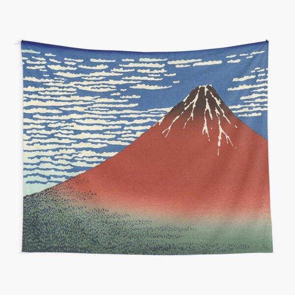 South Wind, Clear Sky - Katsushika Hokusai Tapestry
