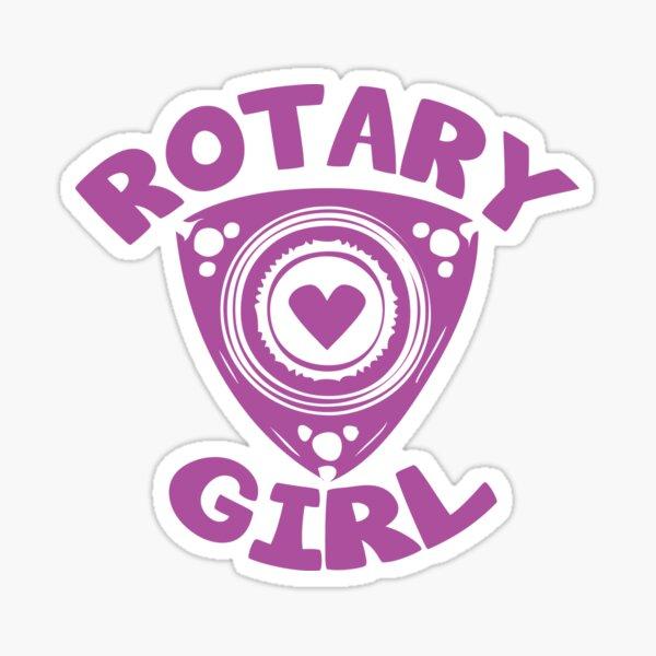 Rotary Girl Rx8 Rx7 Sticker