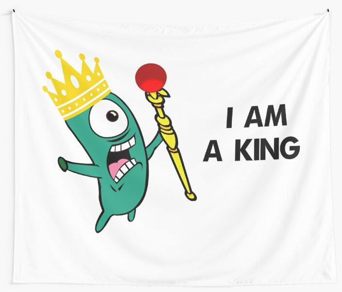 I AM A KING by Aidart