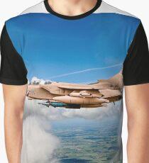 Desert Storm Tornado GR4 Pinky Graphic T-Shirt