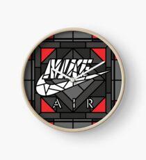 Air Glasmalerei Sneaker Art Uhr
