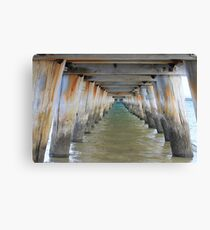 Long Jetty Canvas Print