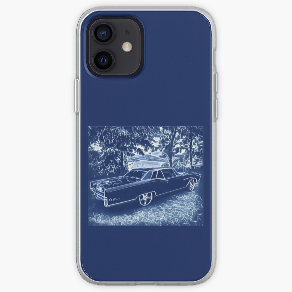 Buick Electra in Blue Electric iPhone Case & Cover