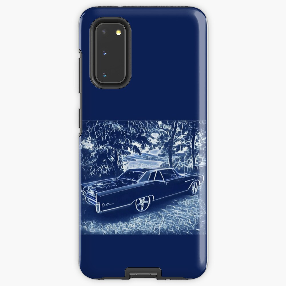Buick Electra in Blue Electric Case & Skin for Samsung Galaxy