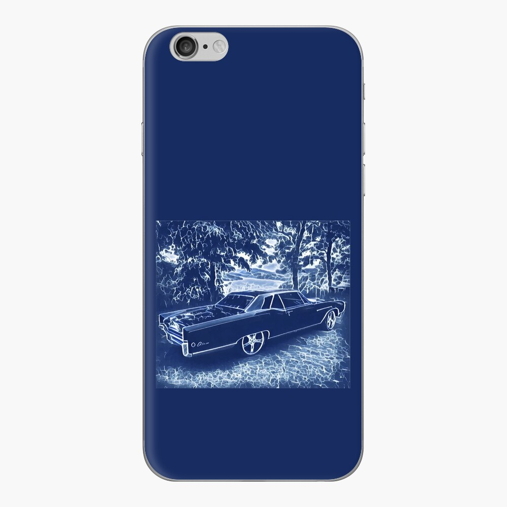 Buick Electra in Blue Electric iPhone Skin