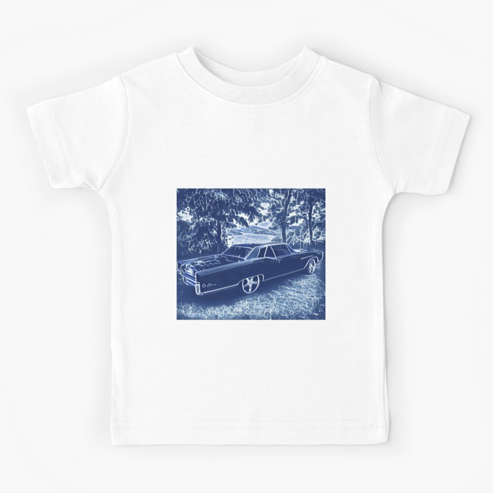 Buick Electra in Blue Electric Kids T-Shirt