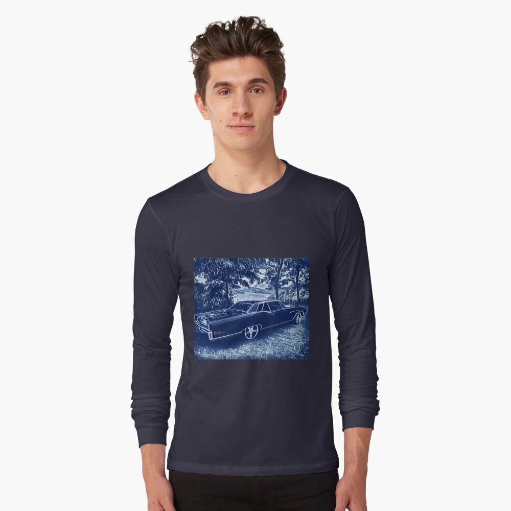 Buick Electra in Blue Electric Long Sleeve T-Shirt