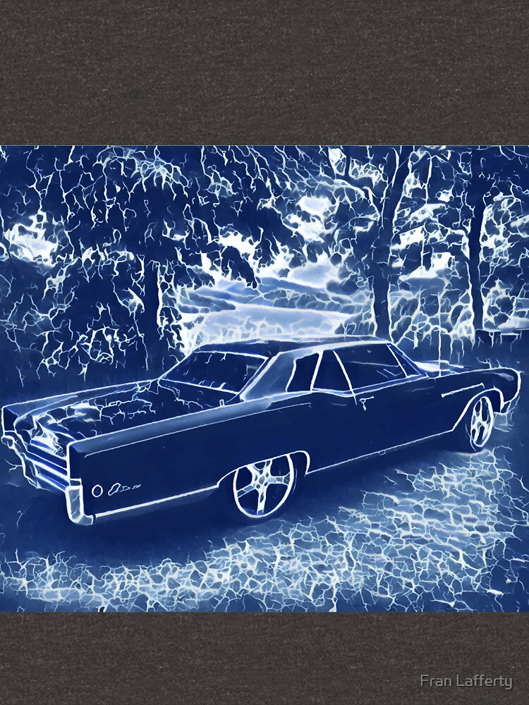 Buick Electra in Blue Electric by FranLafferty