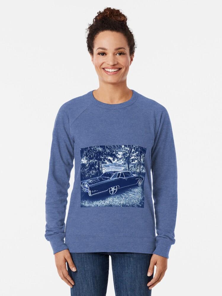 Alternate view of Buick Electra in Blue Electric Lightweight Sweatshirt