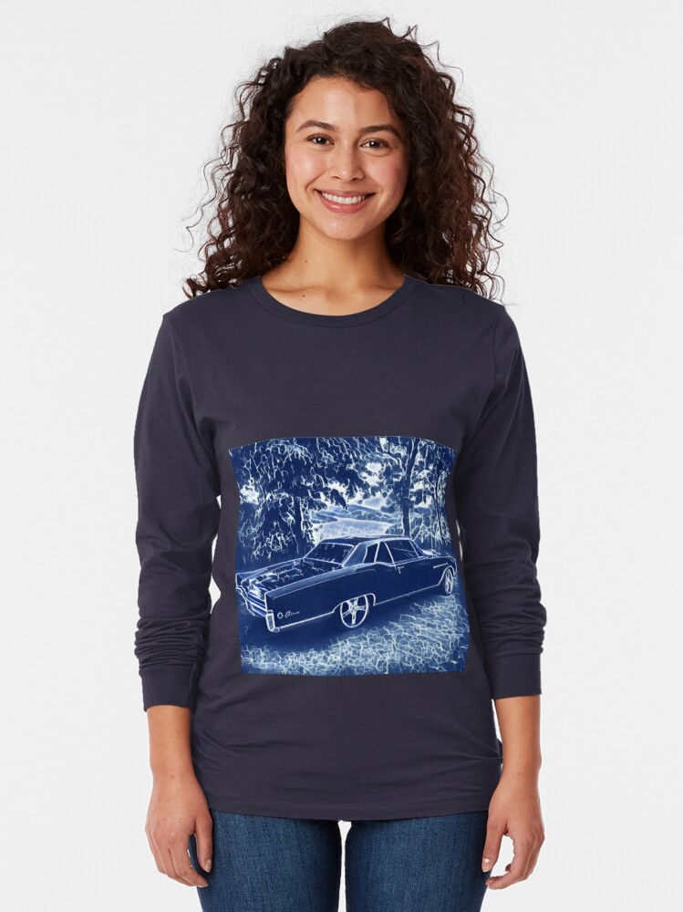 Alternate view of Buick Electra in Blue Electric Long Sleeve T-Shirt