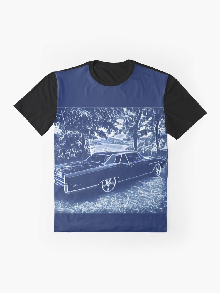 Alternate view of Buick Electra in Blue Electric Graphic T-Shirt