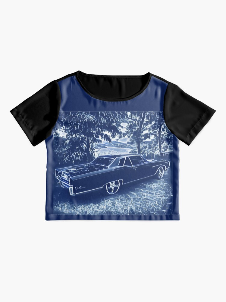 Alternate view of Buick Electra in Blue Electric Chiffon Top