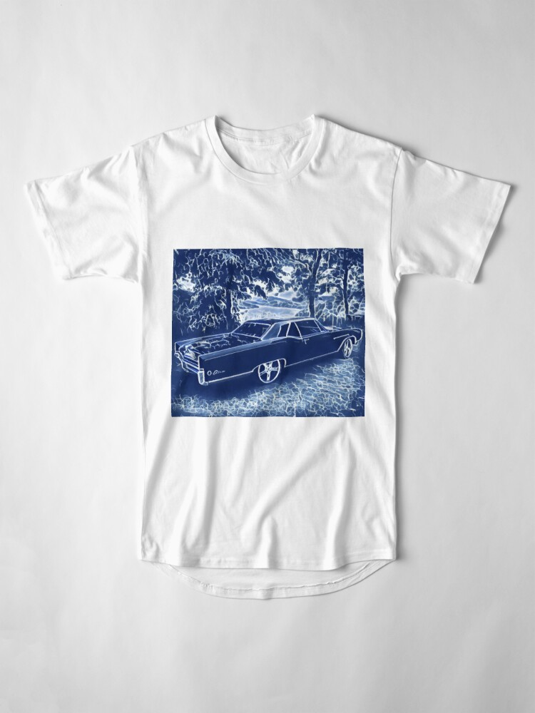 Alternate view of Buick Electra in Blue Electric Long T-Shirt