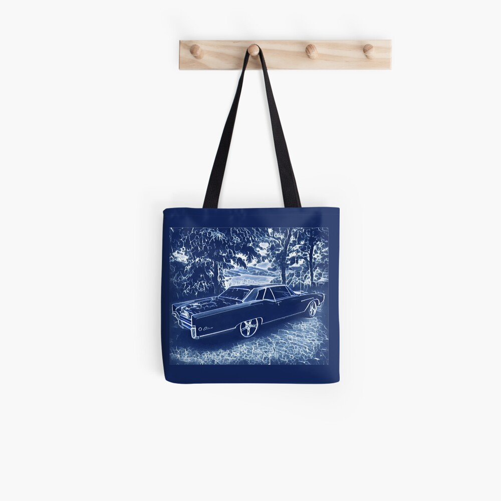 Buick Electra in Blue Electric Tote Bag
