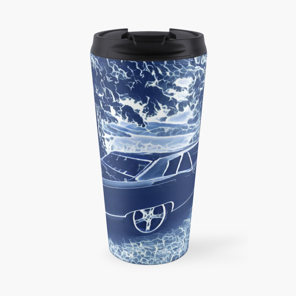 Buick Electra in Blue Electric Travel Mug