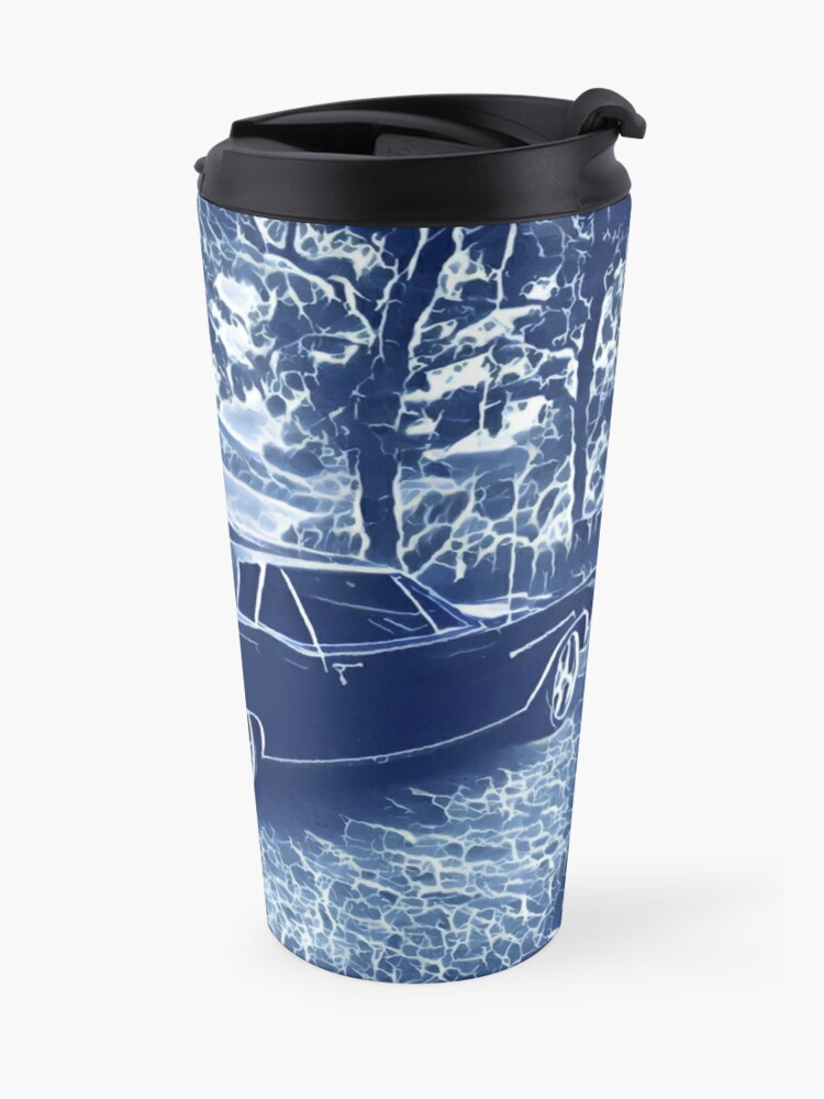 Alternate view of Buick Electra in Blue Electric Travel Mug