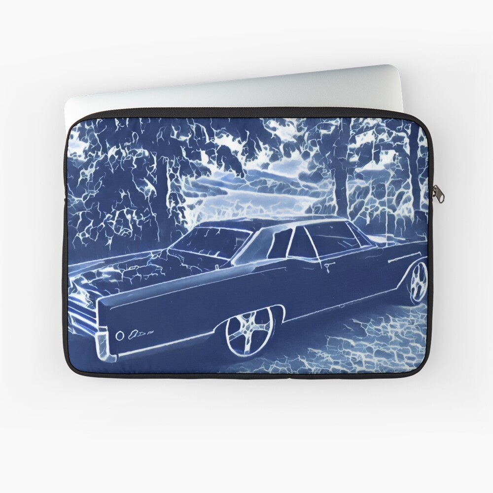 Buick Electra in Blue Electric Laptop Sleeve