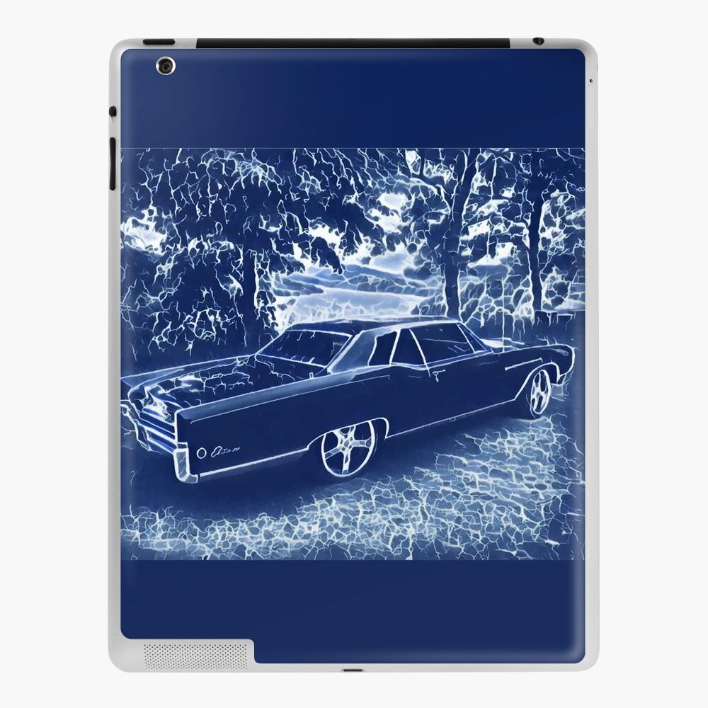 Buick Electra in Blue Electric iPad Case & Skin