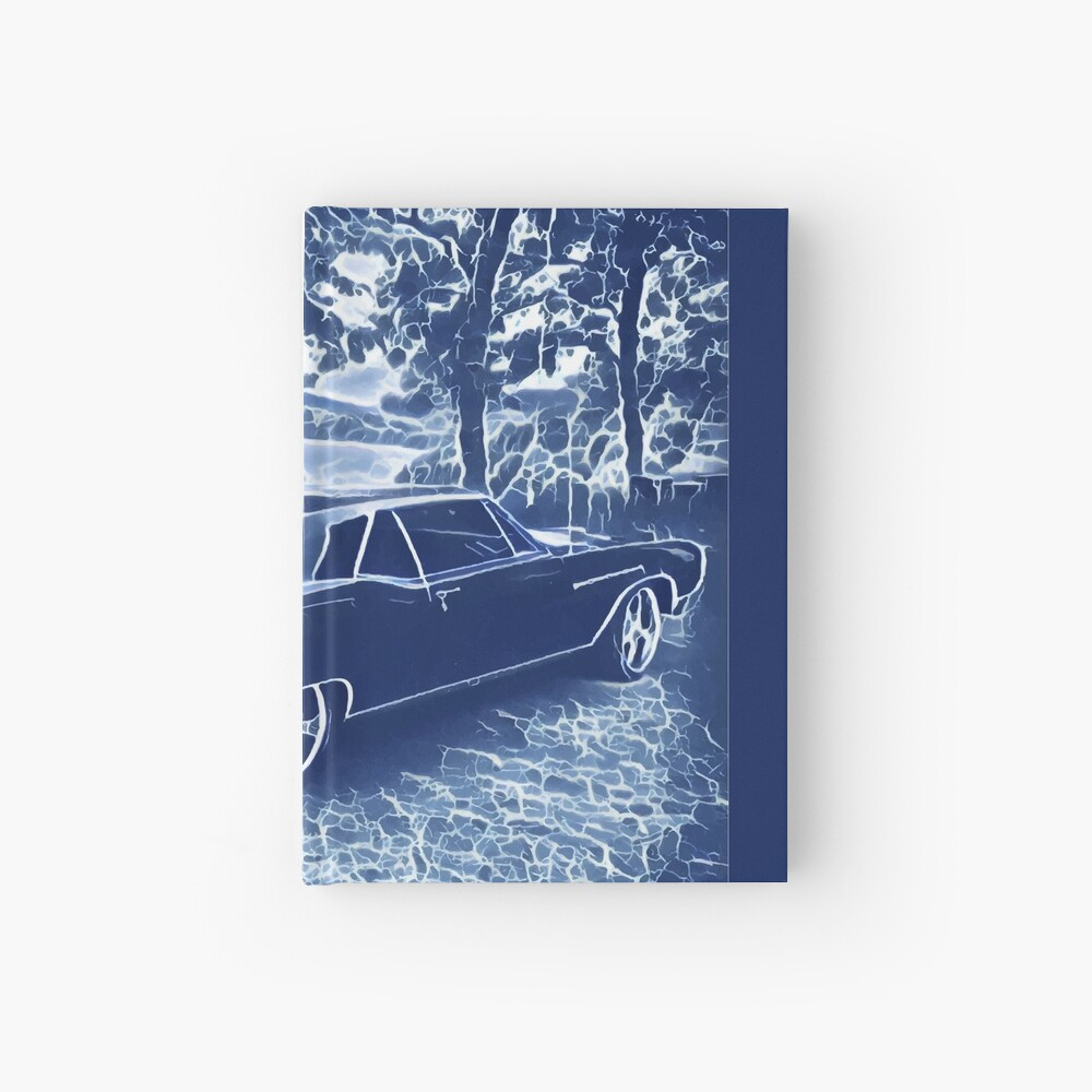 Buick Electra in Blue Electric Hardcover Journal