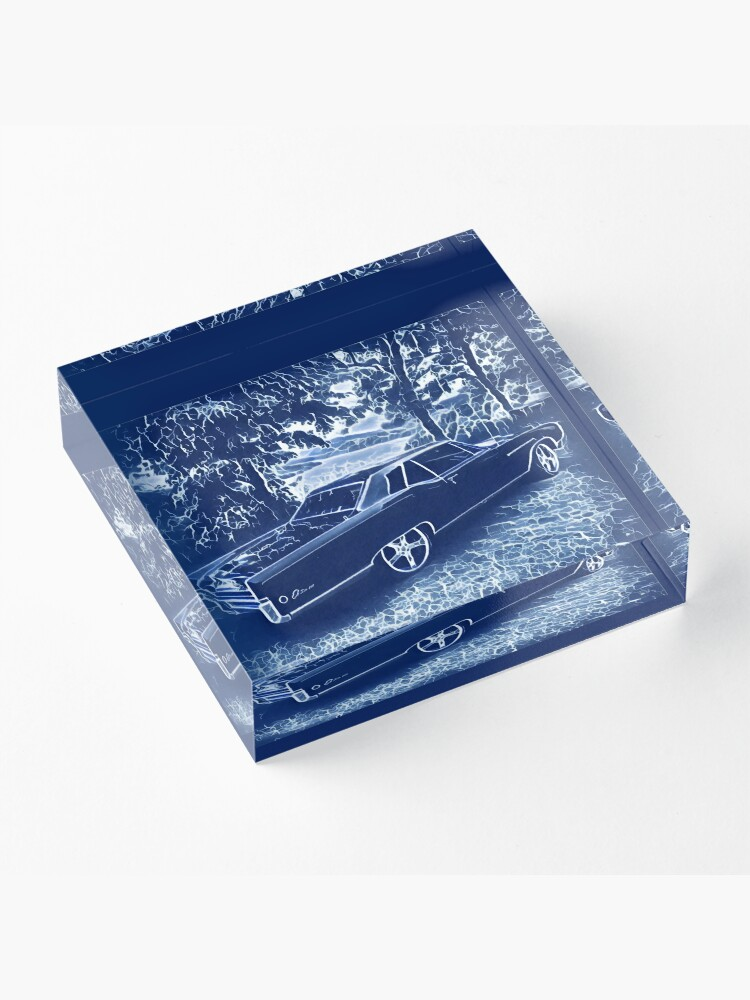 Alternate view of Buick Electra in Blue Electric Acrylic Block