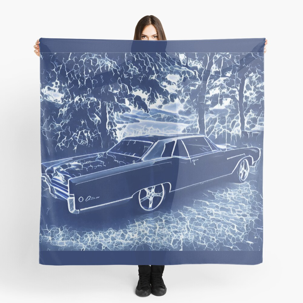 Buick Electra in Blue Electric Scarf