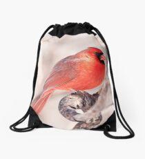 See'ng Red Drawstring Bag
