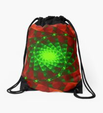 Fractal Delight Drawstring Bag