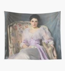 Lady Agnew Of Lochnaw - John Singer Sargent  Wall Tapestry