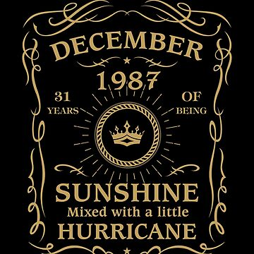 December 1987 Sunshine mixed Hurricane by lavatarnt