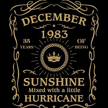 December 1983 Sunshine mixed Hurricane by lavatarnt