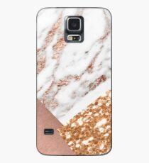 Mehrschichtiges Roségold Hülle & Skin für Samsung Galaxy