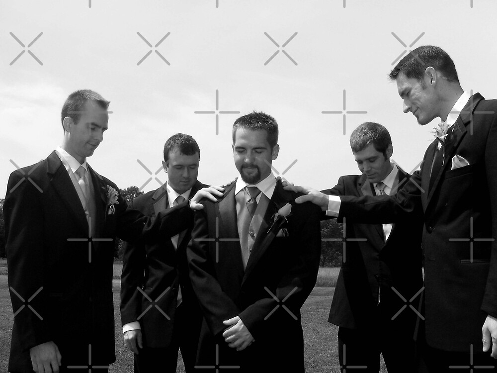 Groomsmen's Support by Brittany Shinehouse
