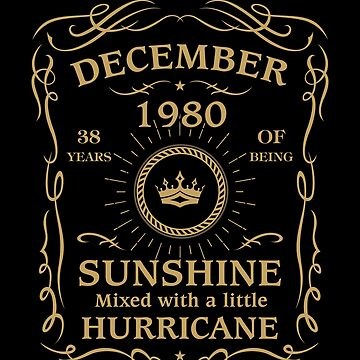 December 1980 Sunshine mixed Hurricane by lavatarnt