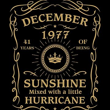 December 1977 Sunshine mixed Hurricane by lavatarnt