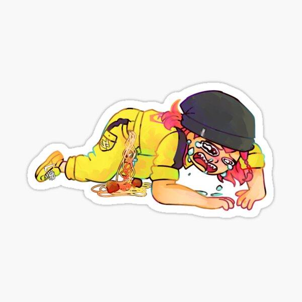 souda dropped his spaghetti Sticker