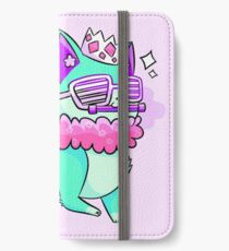 Party Animal (Mint) iPhone Wallet/Case/Skin
