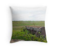 Farmland Equipment Throw Pillow
