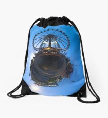 wheel Drawstring Bag