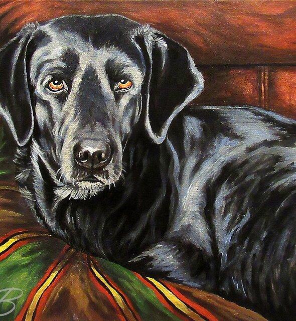 Buddy Alpha Dog by Susan McKenzie Bergstrom
