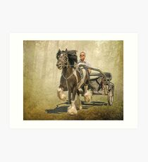 The Gypsy Trotter Art Print