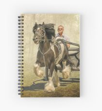 The Gypsy Trotter Spiral Notebook