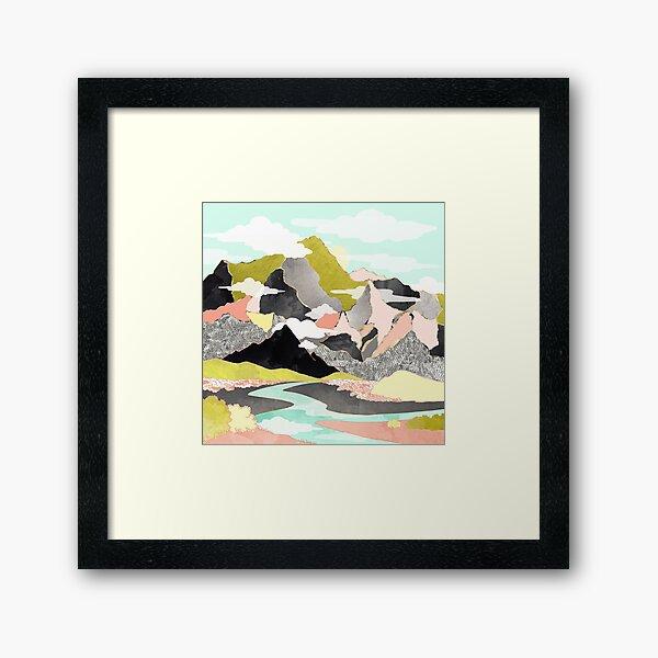 Summer River Framed Art Print