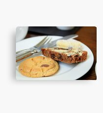 Cake & Biscuits Canvas Print